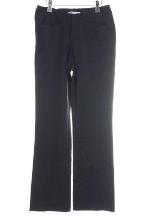 Closed Stoffen broek zwart casual uitstraling
