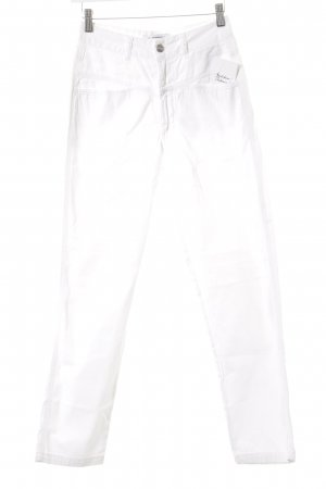Closed Jersey Pants white casual look