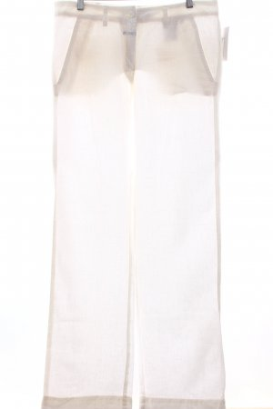 Closed Stoffhose weiß minimalistischer Stil
