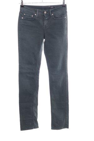 Closed Straight-Leg Jeans hellgrau Casual-Look