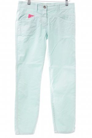 Closed Straight-Leg Jeans türkis Casual-Look