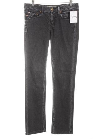 Closed Straight-Leg Jeans anthrazit-dunkelblau Street-Fashion-Look