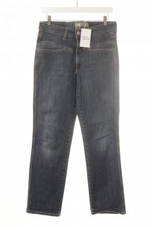 Closed Straight-Leg Jeans blau-beige Casual-Look
