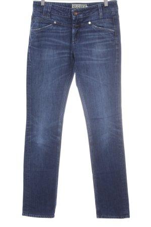 Closed Jeans a gamba dritta blu stile casual