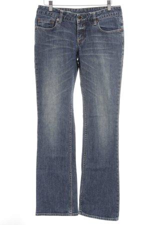 Closed Jeans met rechte pijpen blauw Jeans-look
