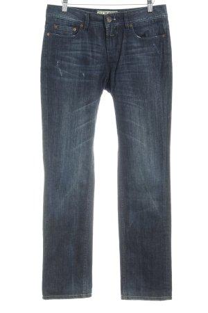 Closed Straight Leg Jeans dark blue casual look