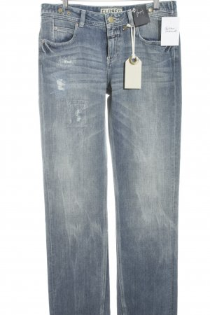 Closed Straight-Leg Jeans dunkelblau-graublau Casual-Look