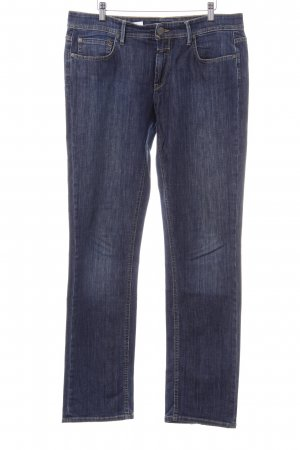 Closed Straight-Leg Jeans dunkelblau Urban-Look