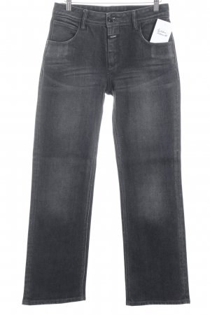 Closed Straight-Leg Jeans dunkelgrau Casual-Look