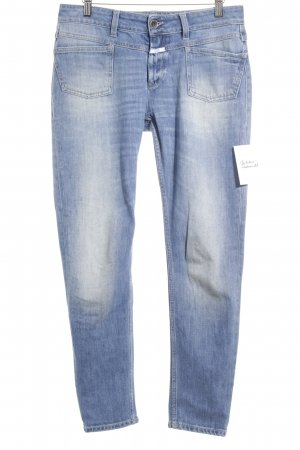 Closed Straight-Leg Jeans graublau schlichter Stil