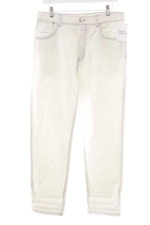 Closed Straight-Leg Jeans mehrfarbig Logo-Applikation