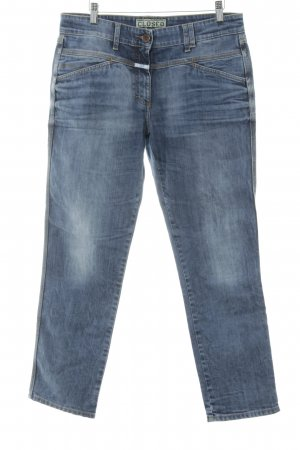 Closed Straight-Leg Jeans mehrfarbig Used-Optik