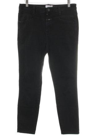Closed Jeans met rechte pijpen zwart boyfriend stijl