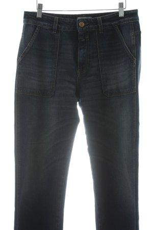 Closed Straight-Leg Jeans stahlblau Casual-Look