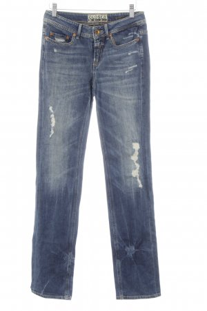 Closed Straight-Leg Jeans stahlblau Jeans-Optik