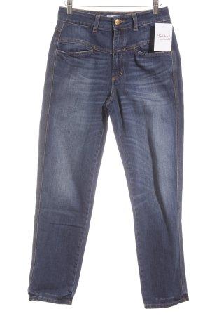 Closed Straight-Leg Jeans stahlblau-kornblumenblau Casual-Look
