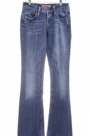 Closed Straight-Leg Jeans stahlblau schlichter Stil