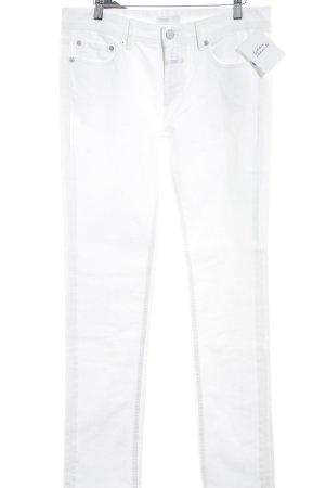 Closed Jeans met rechte pijpen wit casual uitstraling