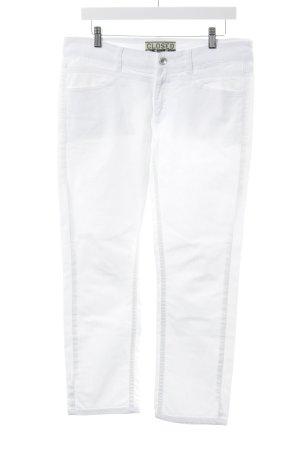 Closed Jeans met rechte pijpen wit Jeans-look