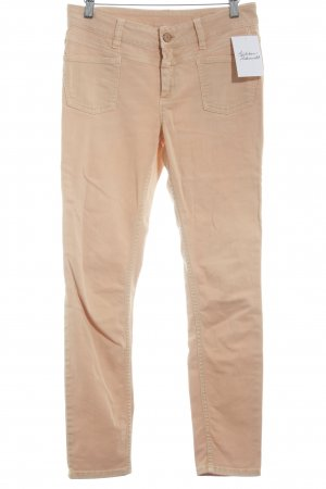 Closed Stretch Jeans apricot casual look