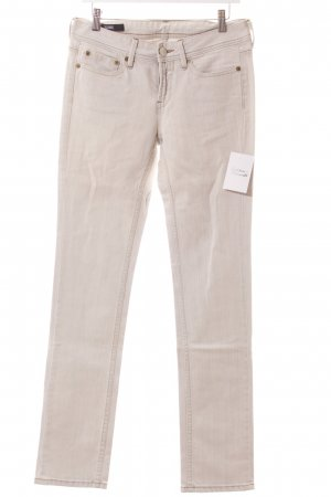 Closed Stretch Jeans hellgrau Streifenmuster Jeans-Optik