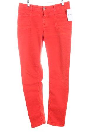 Closed Stretch Jeans rot klassischer Stil