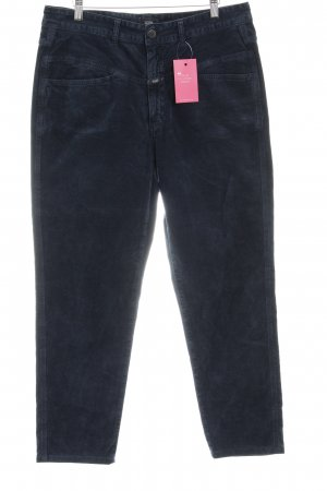 Closed Stretchhose dunkelblau Casual-Look