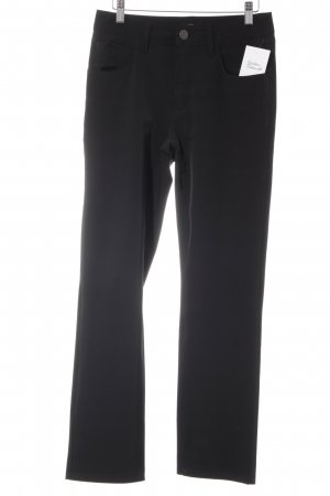 Closed Stretchhose schwarz Business-Look