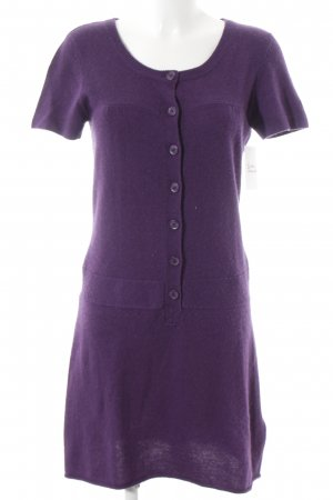 Closed Strickkleid dunkelviolett Casual-Look