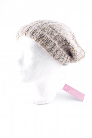 Closed Knitted Hat cable stitch casual look