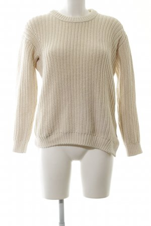 Closed Strickpullover wollweiß Casual-Look