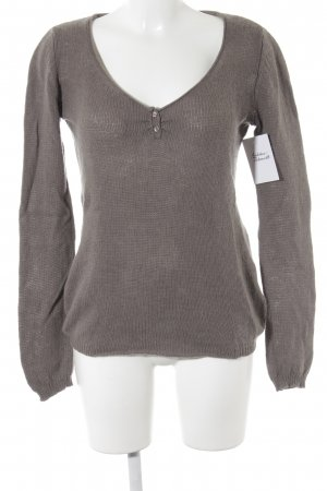 Closed Strickpullover graubraun Casual-Look