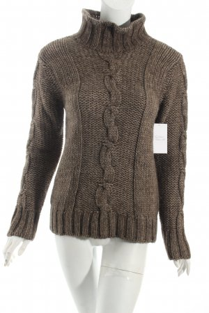 Closed Strickpullover graubraun meliert Casual-Look