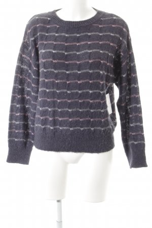 Closed Strickpullover Streifenmuster Casual-Look