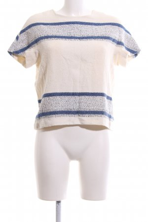 Closed Knitted Jumper cream-blue flecked casual look