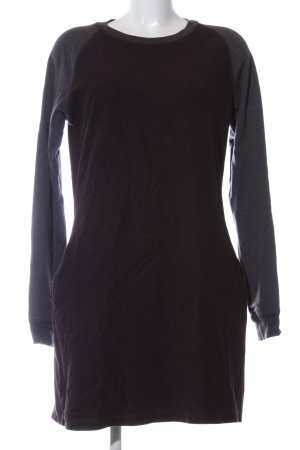 Closed Sweat Dress black flecked casual look