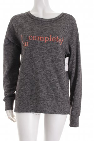 Closed Sweatshirt grau meliert Casual-Look