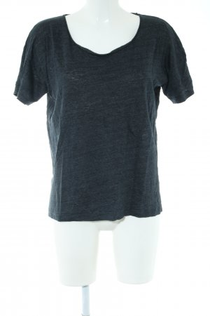 Closed T-shirt blauw gestippeld elegant