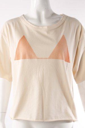 Closed T-Shirt Dreiecksprint