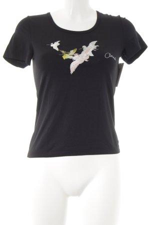 Closed T-Shirt schwarz Casual-Look