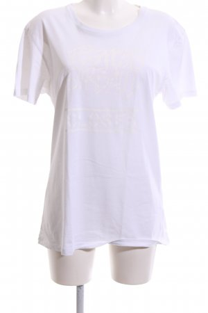 Closed T-Shirt wollweiß platzierter Druck Casual-Look