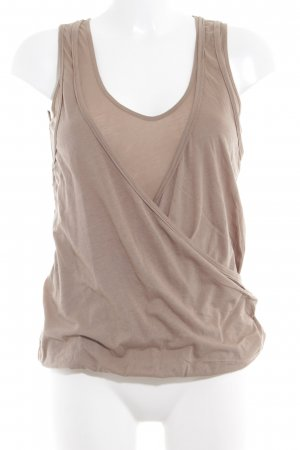 Closed Tanktop ocker Casual-Look