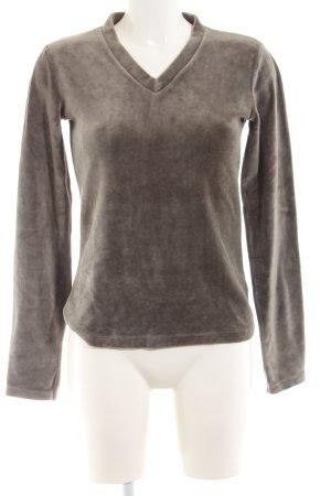 Closed V-Ausschnitt-Pullover braun Casual-Look