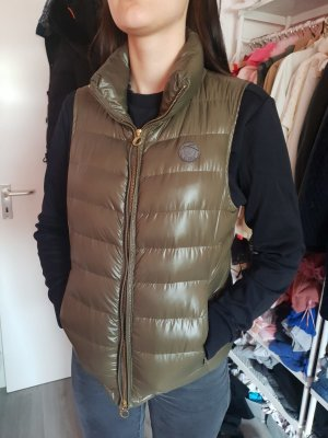 Closed Down Vest green grey