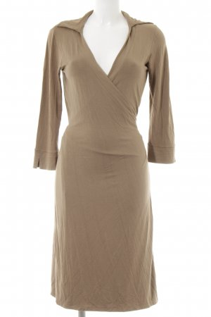 Closed Wickelkleid hellbraun-camel Casual-Look