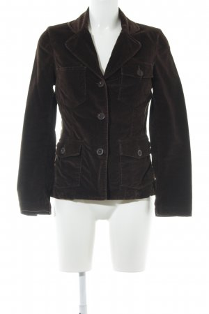 Closed Wool Blazer dark brown vintage look