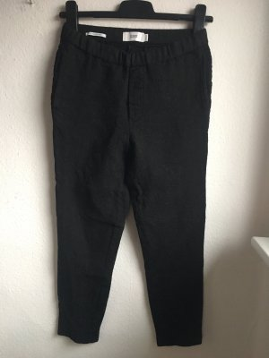 Closed Woolen Trousers black-grey