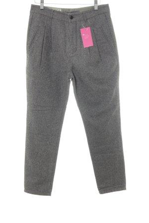Closed Wollen broek grijs-bruin geruite print casual uitstraling