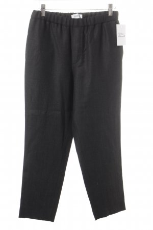 Closed Woolen Trousers black flecked classic style