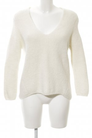 Closed Wool Sweater natural white weave pattern casual look